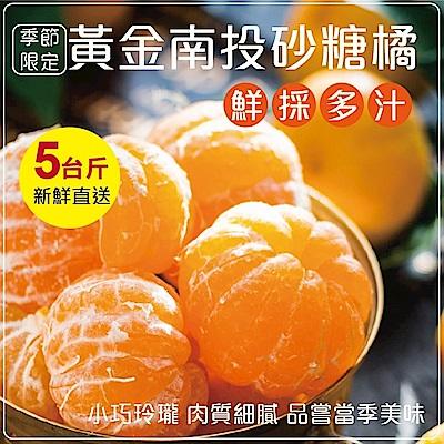 【天天果園】南投高山超迷你砂糖橘禮盒 x5斤