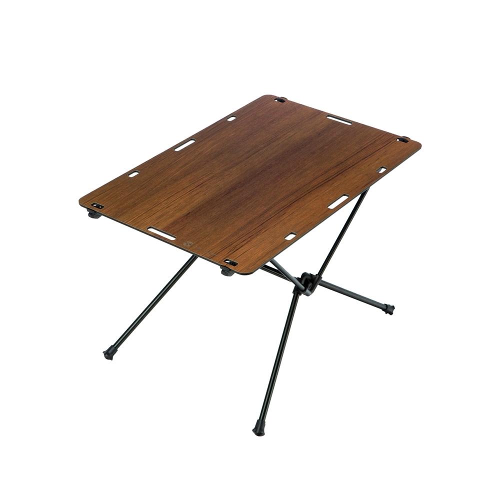 [OWL CAMP]極致輕量摺疊木紋桌.航太鋁合金露營桌折疊桌野餐桌蛋捲桌