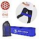 【The One】瑜珈健身 寬版針織阻力帶/彈力帶(中階藍)45磅 product thumbnail 1