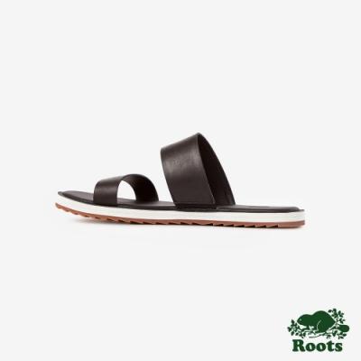 Roots女鞋- 金斯頓涼鞋-黑