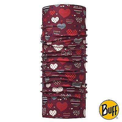《BUFF》兒童Plus經典頭巾-心心開滿天 BF118332-632
