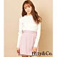 titty&Co.馬卡龍色系編織滾邊短裙(3色) product thumbnail 1