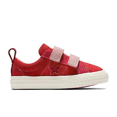 CONVERSE-ONE STAR 童鞋-紅