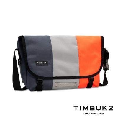 Timbuk2 Classic Messenger 13 吋經典郵差包 - 灰藍螢光拼色
