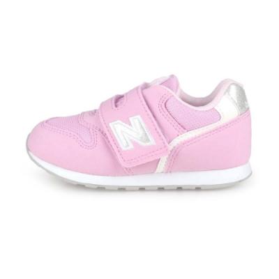 NEWBALANCE 小童復古慢跑鞋-WIDE 粉紅銀