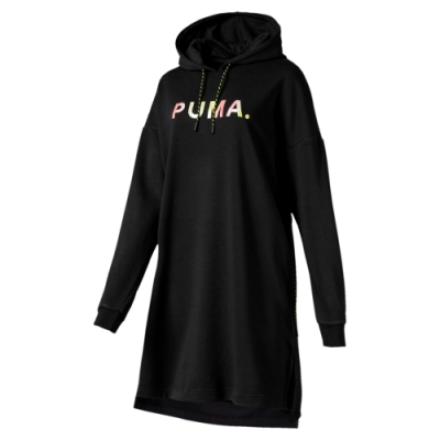 PUMA-女性流行系列Chase連身裙-黑色-歐規
