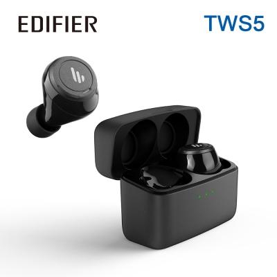 Edifier TWS5 真無線立體聲藍牙耳機 黑