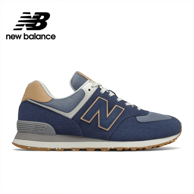 [New Balance]復古運動鞋_中性_深藍色_ML574AB2-D楦