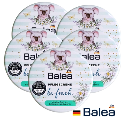(5入組)德國Balea無尾熊尤佳利清爽護膚霜30ml(茉莉花香)x5