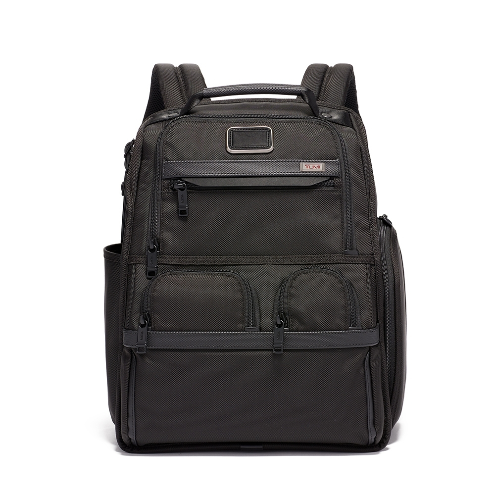 TUMI 電腦後背包-黑色
