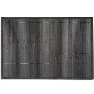 《EXCELSA》Oriented竹簾餐墊(黑)