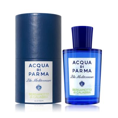 Acqua di Parma 帕爾瑪之水 藍色地中海-佛手柑淡香水 BERGAMOTTO DI CALABRIA 150ml EDT-國際航空版
