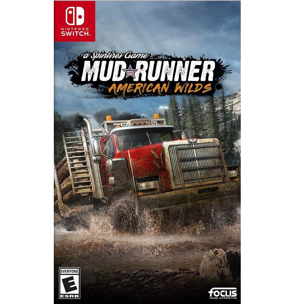 旋轉輪胎:泥濘奔馳 美洲荒野版 MudRunner -NS Switch 英文美版