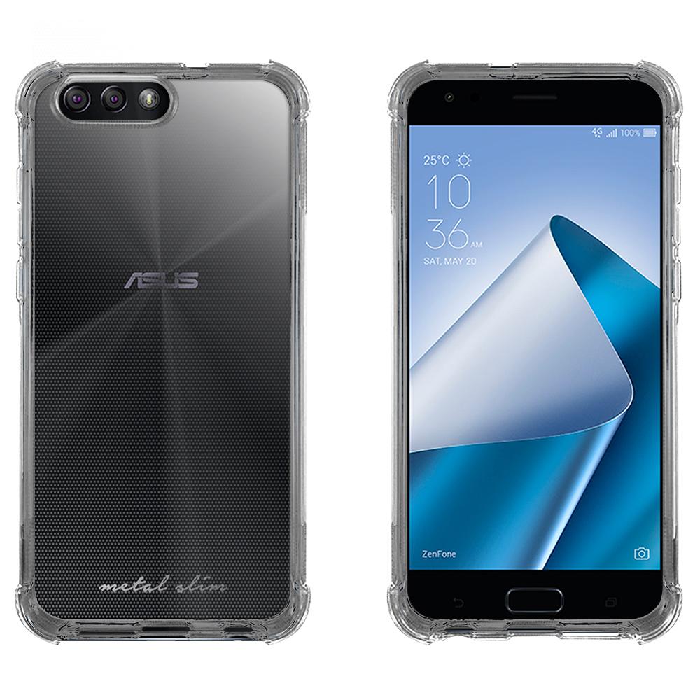 Metal-Slim ASUS ZenFone 4 ZE554KL 強化防摔抗震空壓手機殼