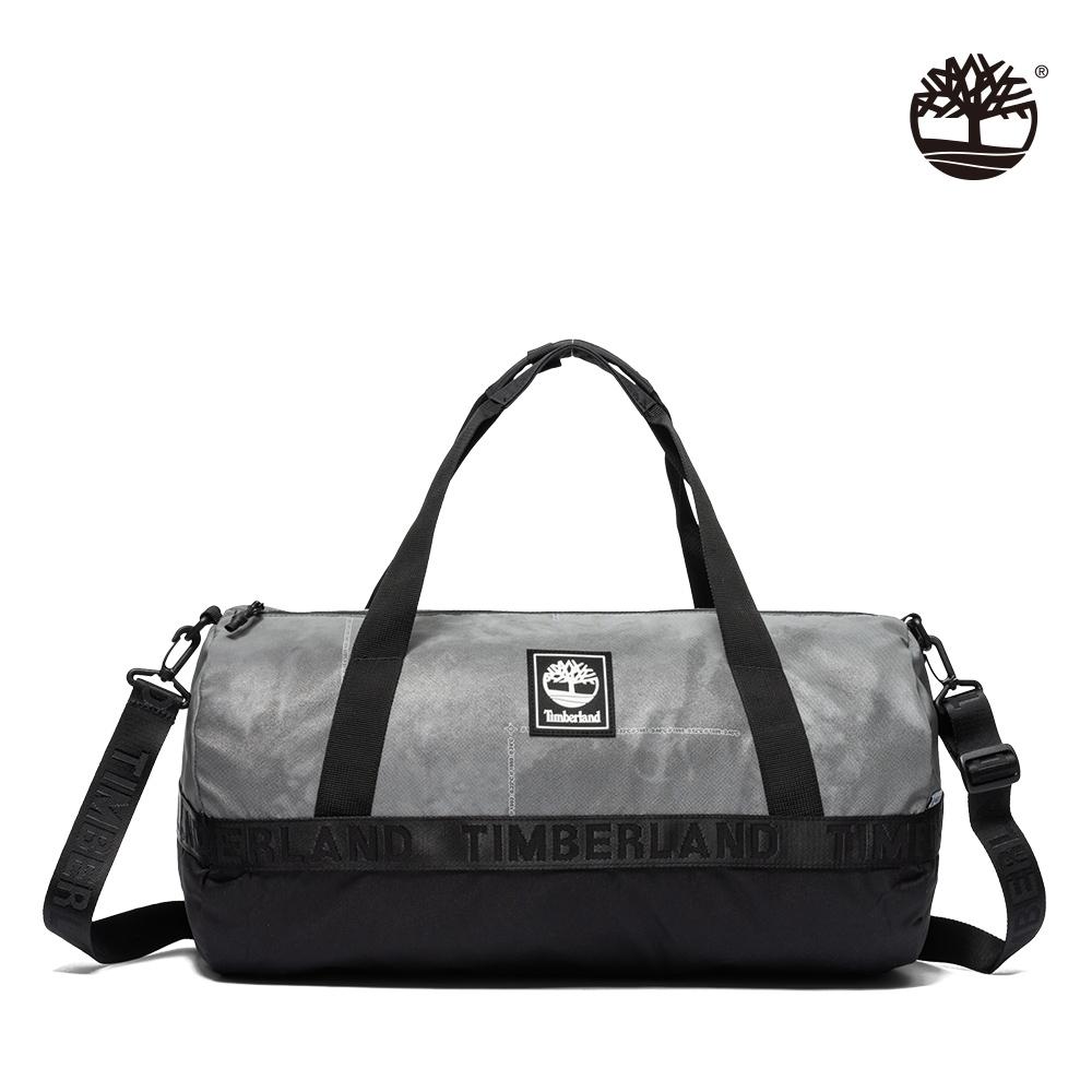 Timberland 中性月岩灰品牌織帶LOGO手提肩背旅行袋 A2H6Q