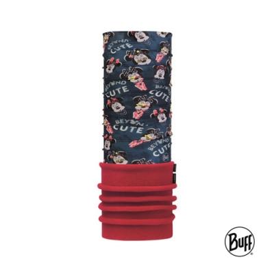 【西班牙BUFF】 兒童迪士尼-保暖頭巾 Plus-花樣米妮