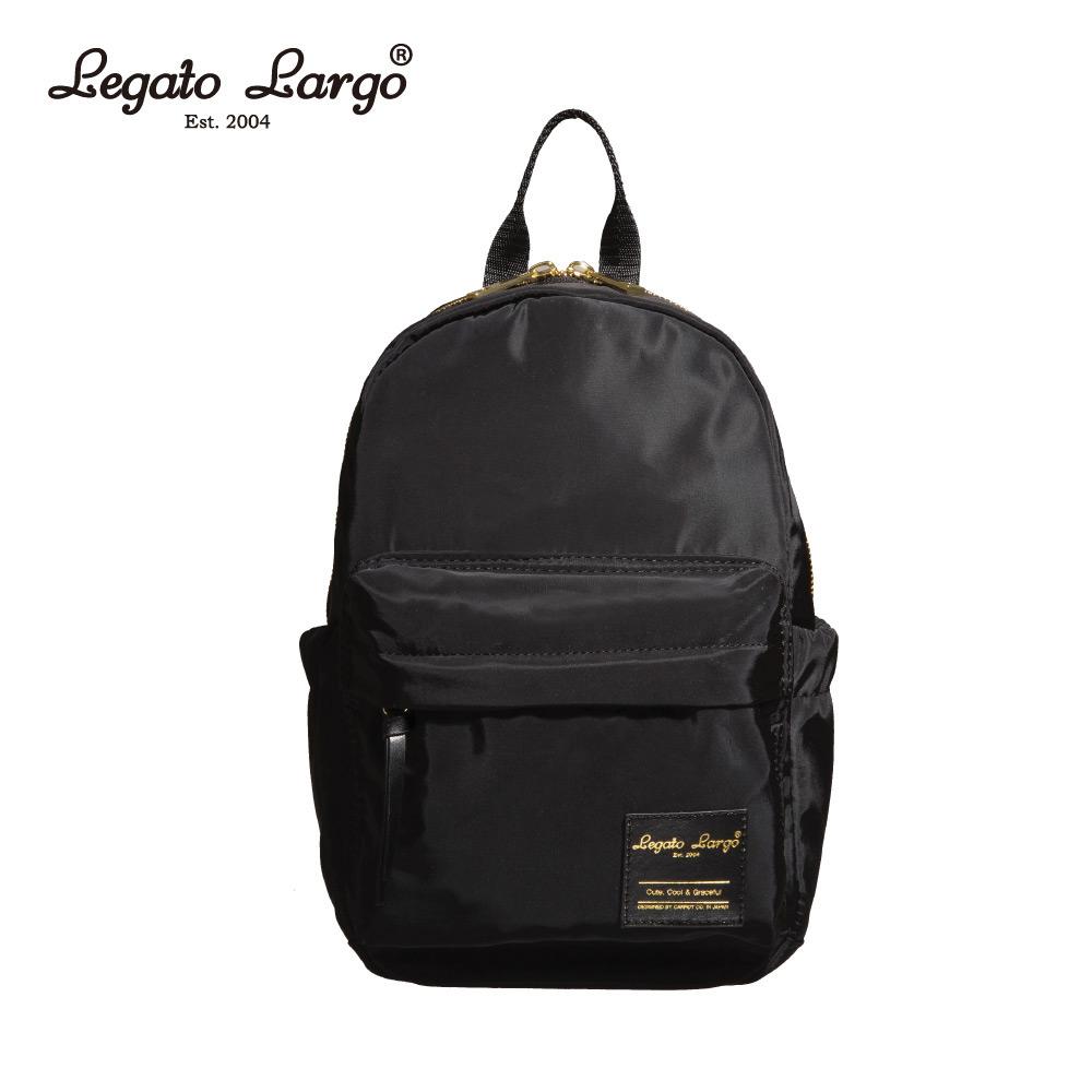 Legato Largo 輕巧迷你後背包-黑 LT-M1001BK