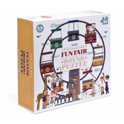 西班牙Londji 遊樂園圓型拼圖