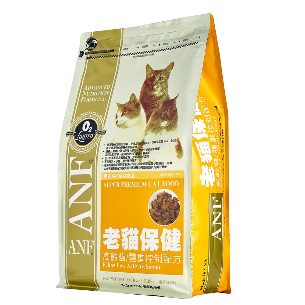 【ANF 愛恩富】老貓保健7.5kg(高齡貓體重控制配方)