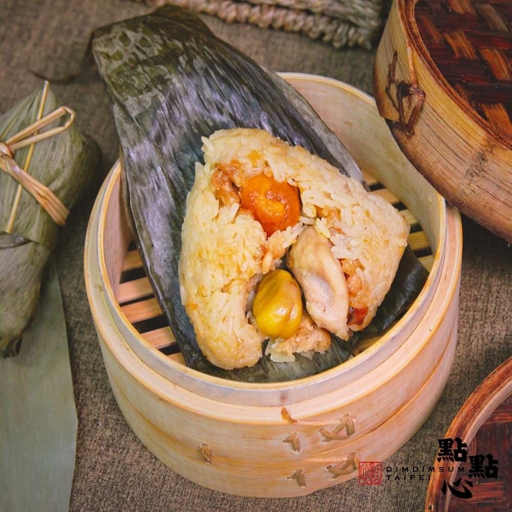 【點點心】懷舊糯米雞粽5入 /包(190g/入)