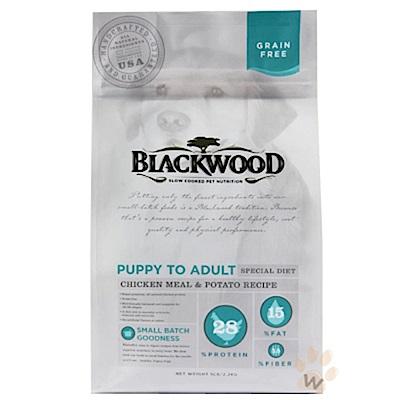 《12月獨家》柏萊富 無穀全齡犬 低敏純淨配方(雞肉+豌豆)30磅X2包組