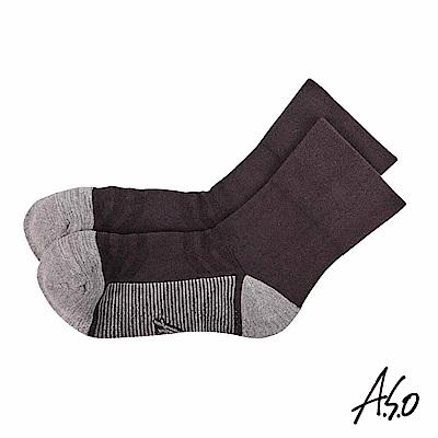A.S.O 遠紅外線系列 除臭寬口襪-灰