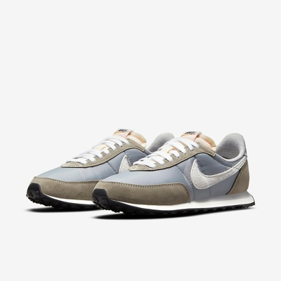 Nike 休閒鞋 Waffle Trainer 2 運動 男鞋 基本款 簡約 麂皮 球鞋 穿搭 灰 白 DM9090011
