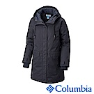 Columbia哥倫比亞 女款-Omni-TECH 防水連帳長外套-深藍