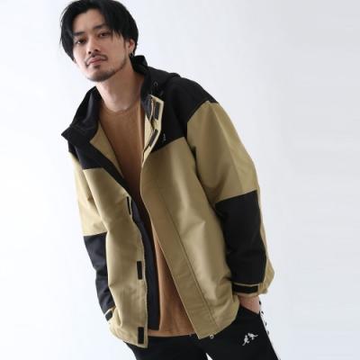 KANGOL登山連帽外套風衣(5色) -ZIP日本男裝