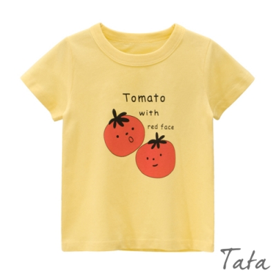 童裝 可愛番茄印花上衣 TATA KIDS