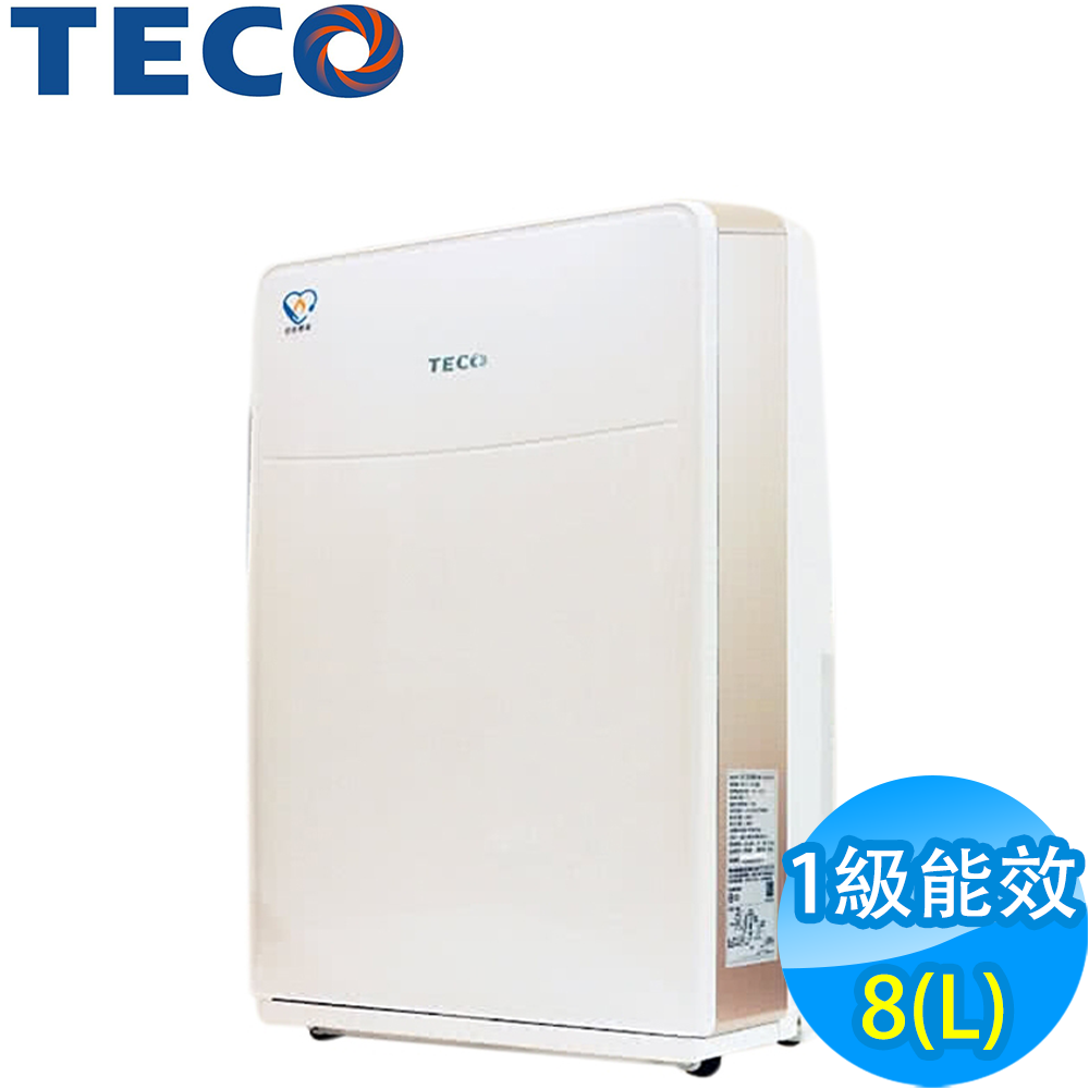 TECO東元 8L 1級清淨除濕機 MD1631W