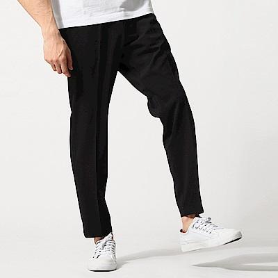 霧面彈性九分褲(2色) ZIP日本男裝