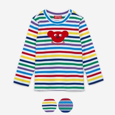 WHY AND 1/2 mini 條紋棉質萊卡上衣 1Y~4Y 多色可選