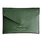 PLEPIC 啟程吧皮革護照包-森林綠