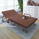 AS-強森咖啡色折疊床-80x188x30cm