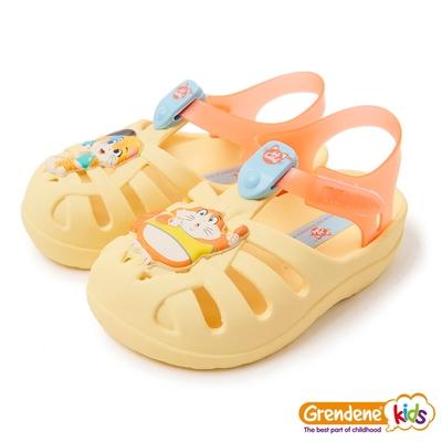 Grendene Kids 巴菲貓樂團小童涼鞋-黃色