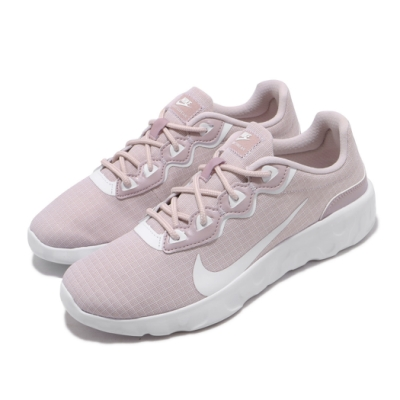 Nike 休閒鞋 Explore Strada 運動 女鞋 輕量 舒適 避震 簡約 球鞋 穿搭 粉 白 CQ7624601