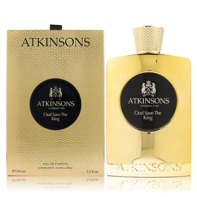 ATKINSONS OUD SAVE THE KING 沉香之王 EDP 100ML 贈同品牌針管