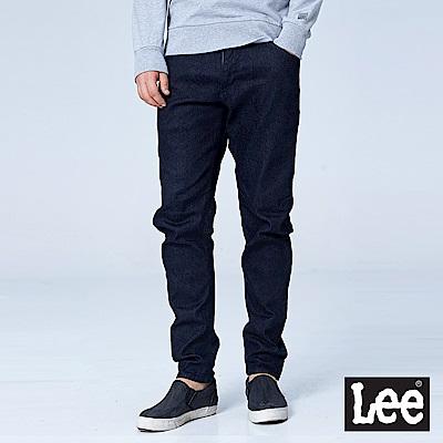 Lee 合身標準小直筒牛仔褲/UR-深藍色