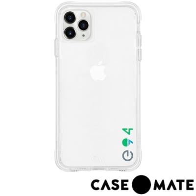 美國 Case●Mate iPhone 11 Pro Max防摔手機保護殼愛護地球款-透明