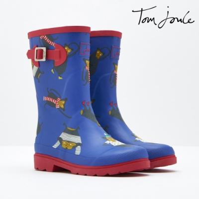 英國【Joules】藍色小猴雨靴