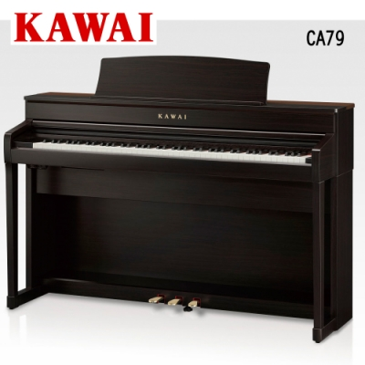 KAWAI CA79 R 88鍵電鋼琴 胡桃木色款