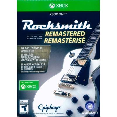 搖滾史密斯 2014 重製版(附音源線) Rocksmith 2014 Edition Remastered- XBOX ONE 英文美版