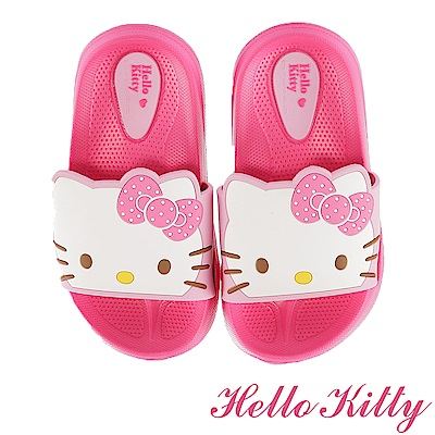 (雙11)HelloKitty 輕量減壓吸震室內外拖鞋童鞋-桃