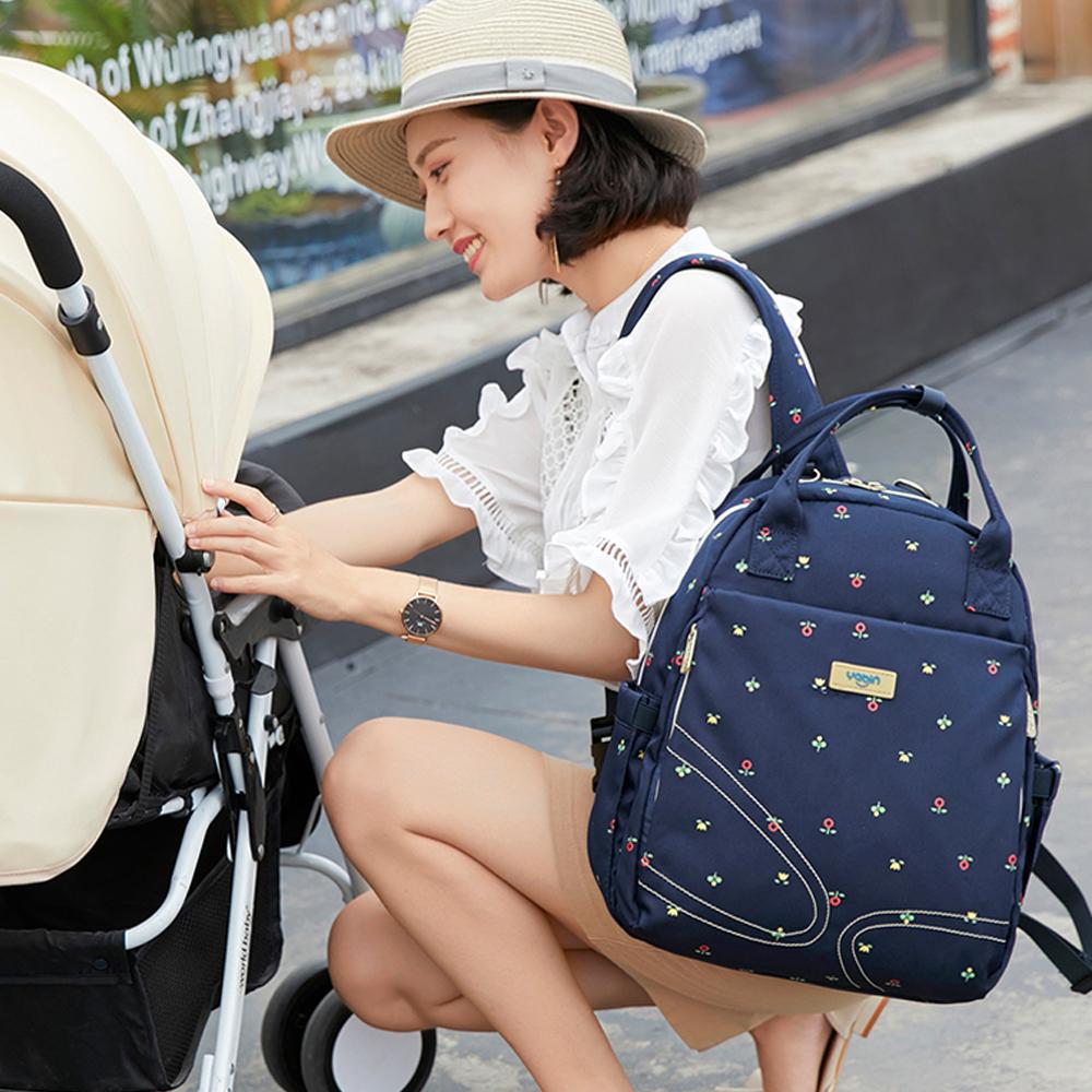 YABIN後背包媽媽包母嬰包手提包嬰兒外出包