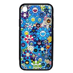 KaiKai Kiki 限量村上隆滿版花花設計I Phone XR手機殼 (藍色)