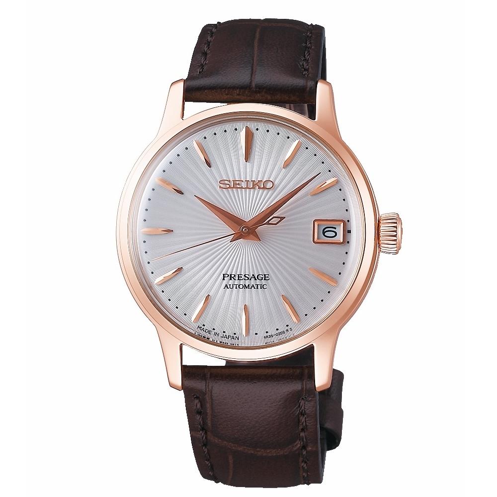 SEIKO PRESAGE 優雅機械女腕錶4R35-02T0P/SRP852J1
