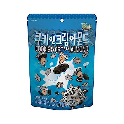 韓國Toms Gilim 杏仁果巧克力-香草餅乾味(25g)
