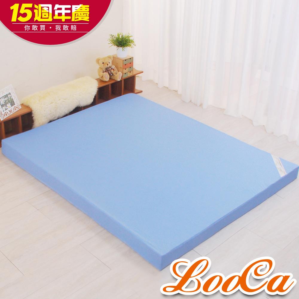 (週年慶限定)LooCa花焰超透氣釋壓12cm記憶床墊-單人3尺