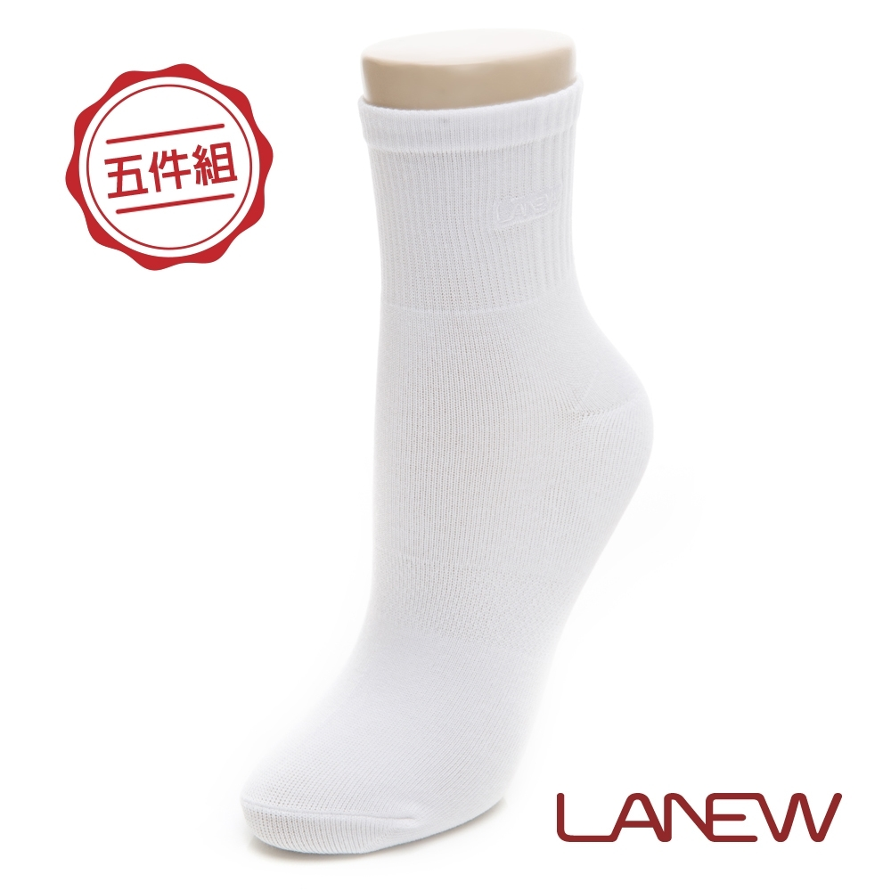 LA NEW 休閒短筒襪五件組(298780334)